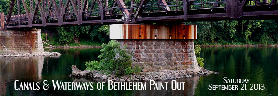 Canals and Waterways of Bethlehem Paint Out