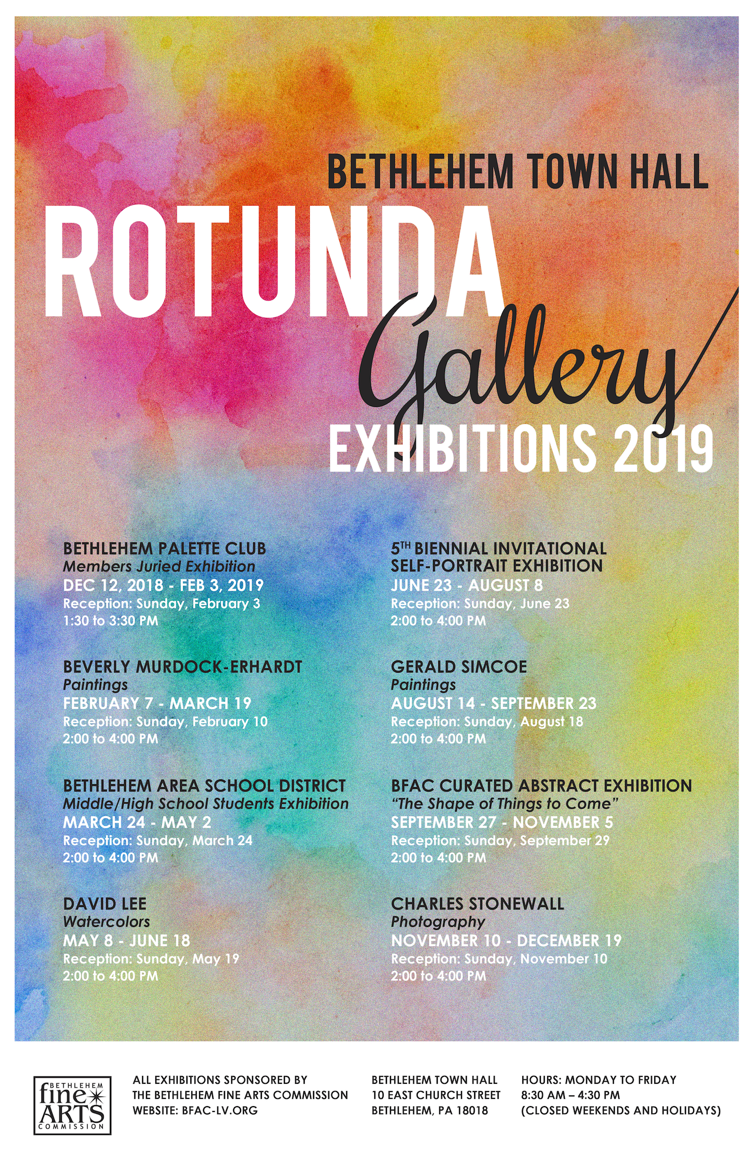 Rotunda Gallery Shows | Bethlehem Fine Arts Commission